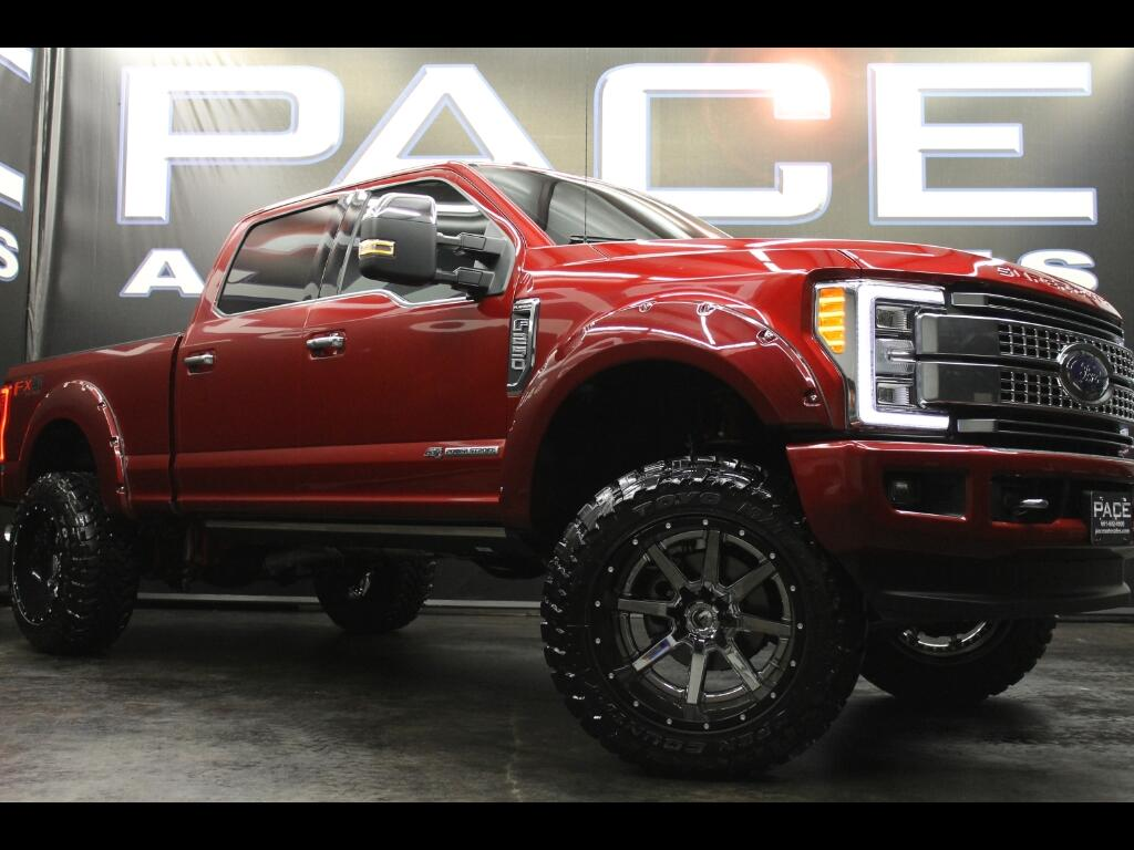 2017 Ford F-250 SD Platinum Crew Cab 4WD Custom Lifted