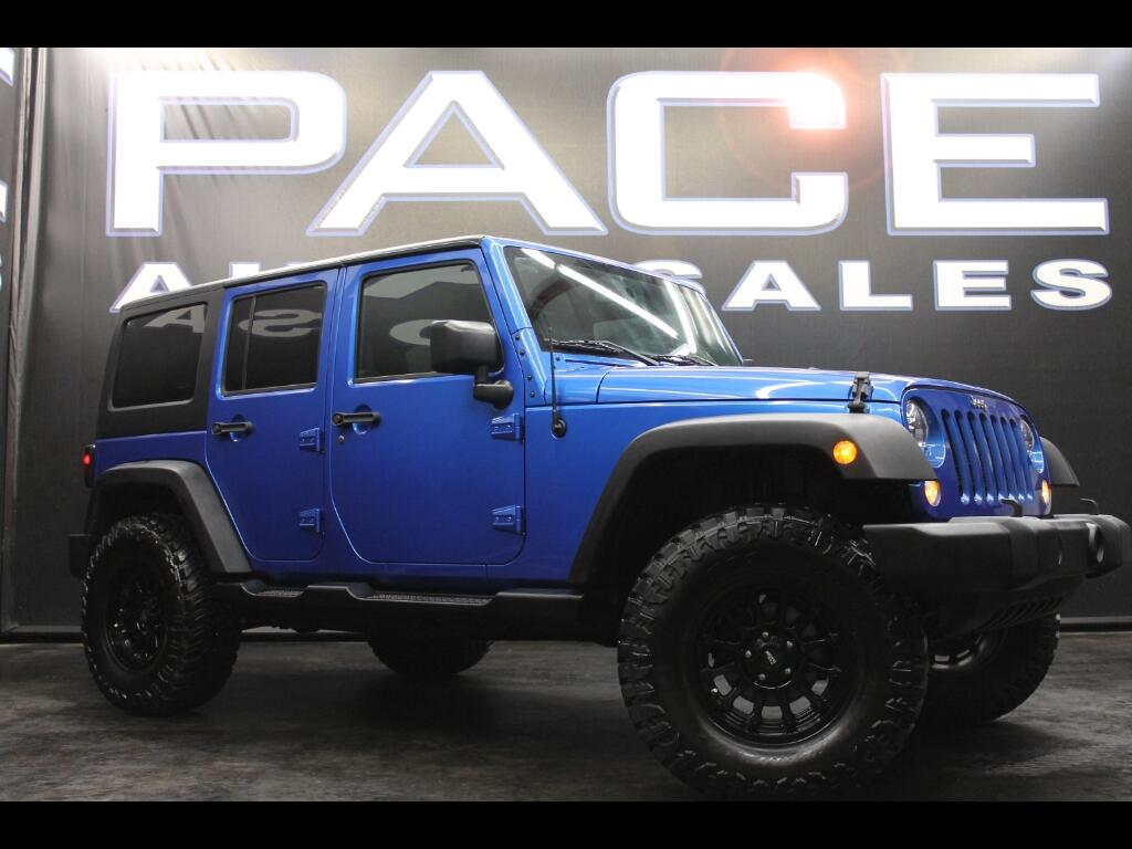 2015 Jeep Wrangler Unlimited 4WD Custom Lifted