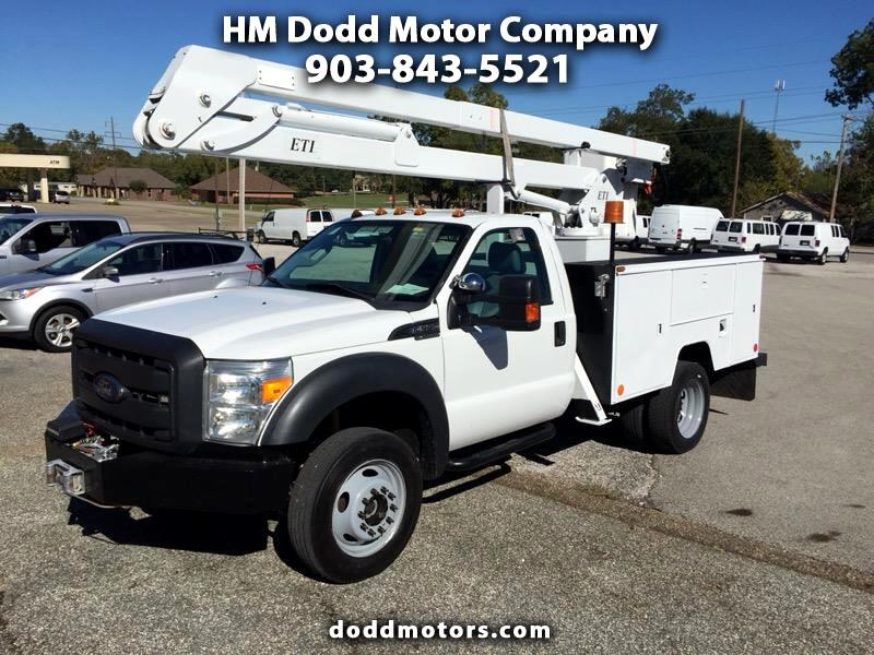 2012 Ford F-550 Super Duty F-550 ETI Service Bed Bucket Truck 4x4