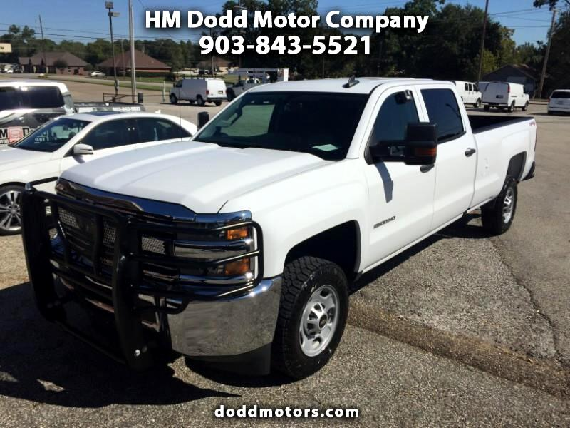 Chevrolet Silverado 2500HD Work Truck Crew Cab Long Box 4WD 2017