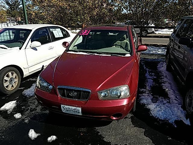 2003 Hyundai Elantra GLS