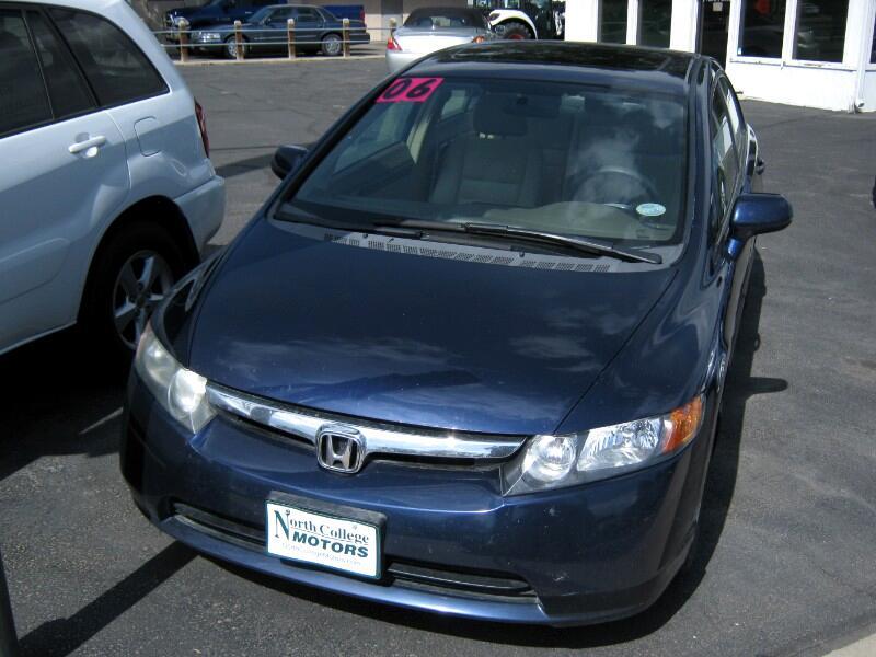 2006 Honda Civic 4dr Sdn EX Auto