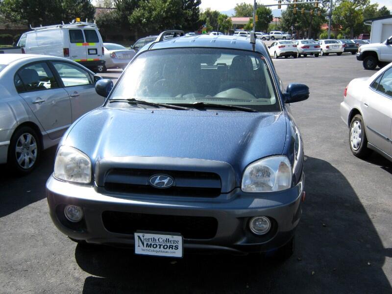2006 Hyundai Santa Fe GLS 2.7L 4WD
