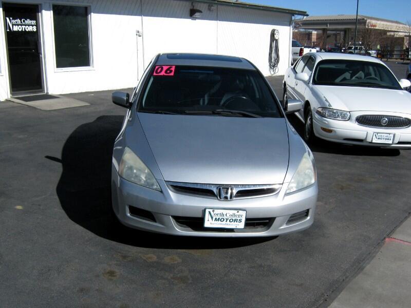Honda Accord EX V-6 Sedan AT w/ Nav System/ XM Radio 2006
