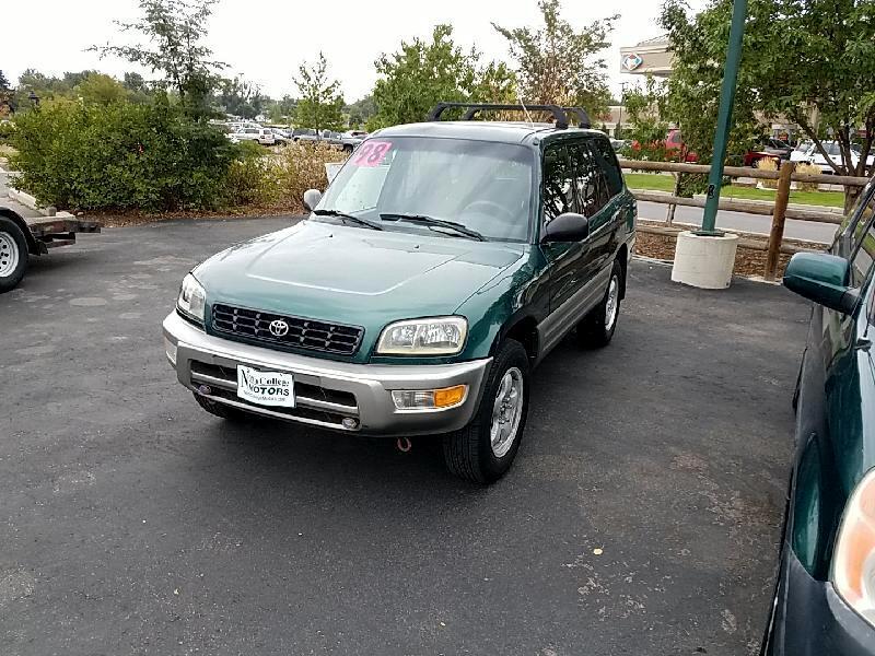 Toyota RAV4 4-Door 2WD 1998