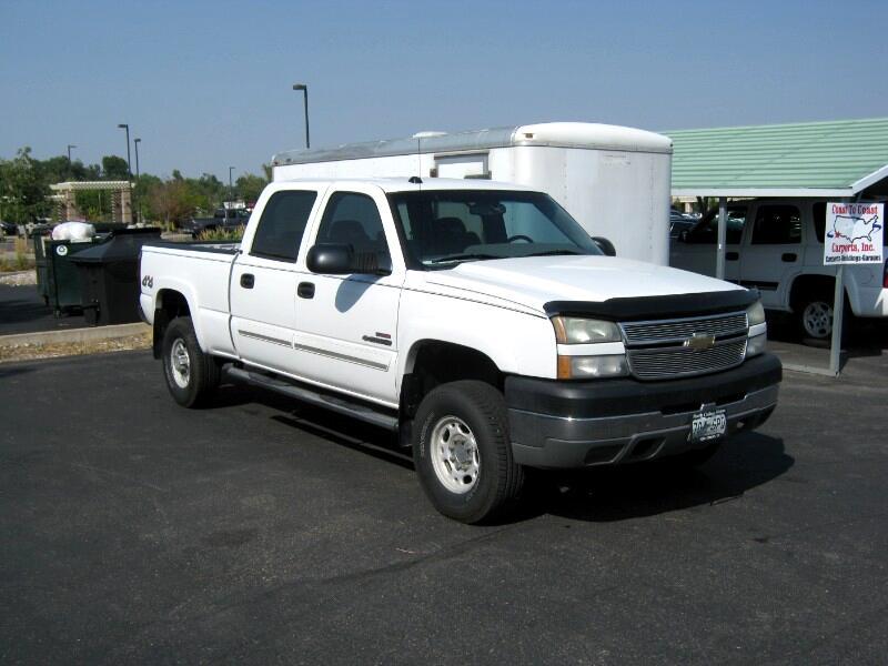 Chevrolet Silverado 2500HD LT Crew Cab Long Bed 4WD 2005