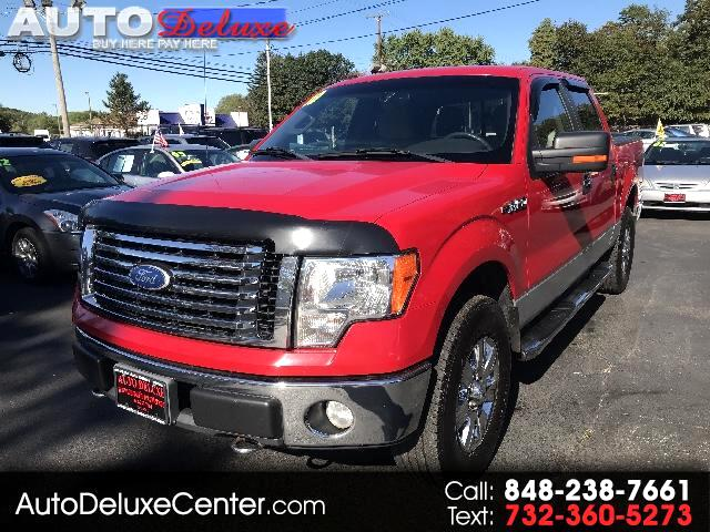 2010 Ford F-150 XLT SuperCrew Short Bed 4WD