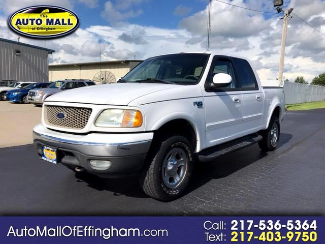 2002 Ford F-150 Lariat 4WD SuperCrew 5.5' Box