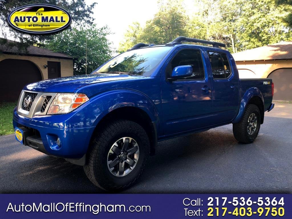 2014 Nissan Frontier PRO-4X King Cab 4WD