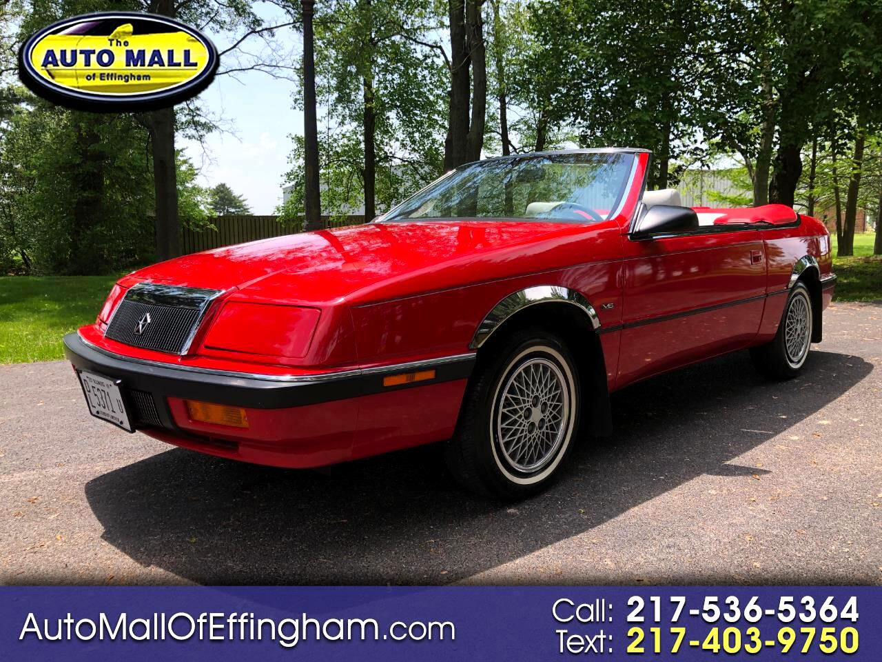 1991 Chrysler LeBaron 2dr Convertible High