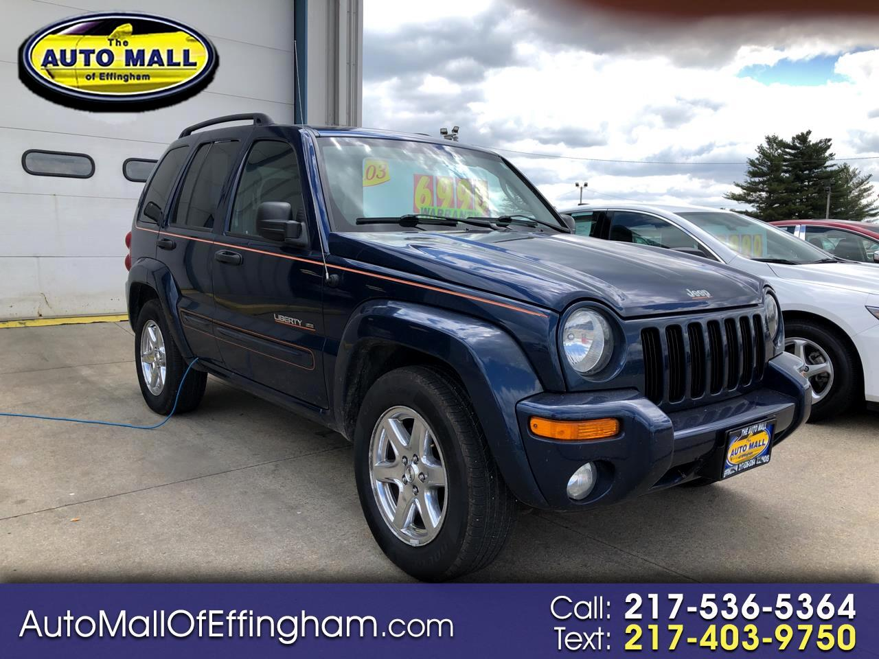 2003 Jeep Liberty 4dr Limited 4WD