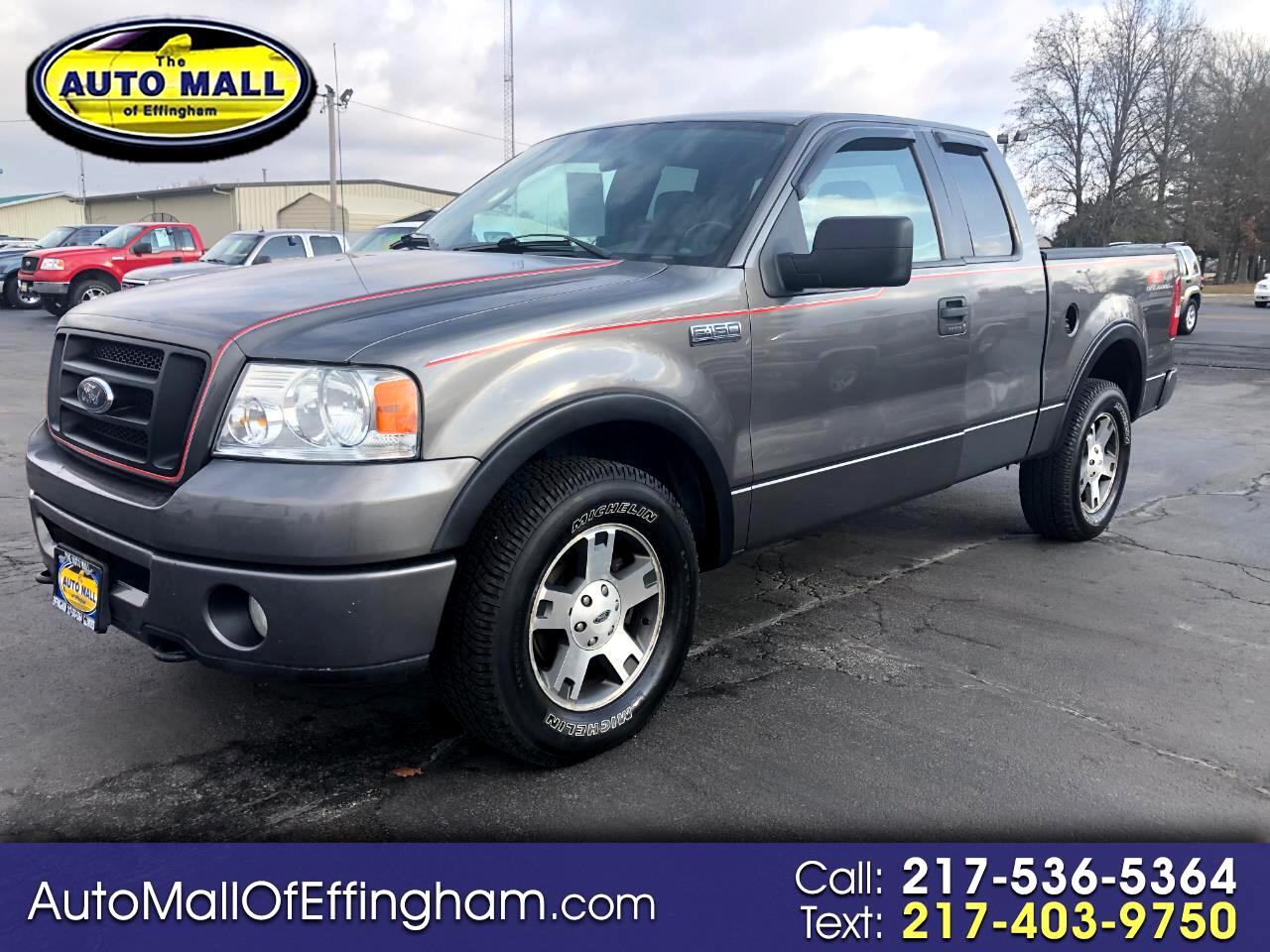 """Ford F-150 4WD SuperCab 133"""" FX4 2006"""