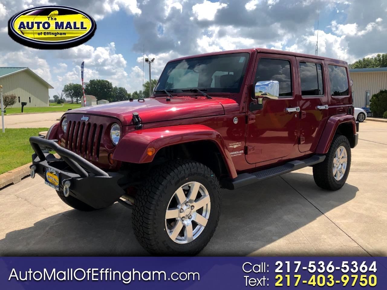 2013 Jeep Wrangler Unlimited 4WD 4dr Sahara