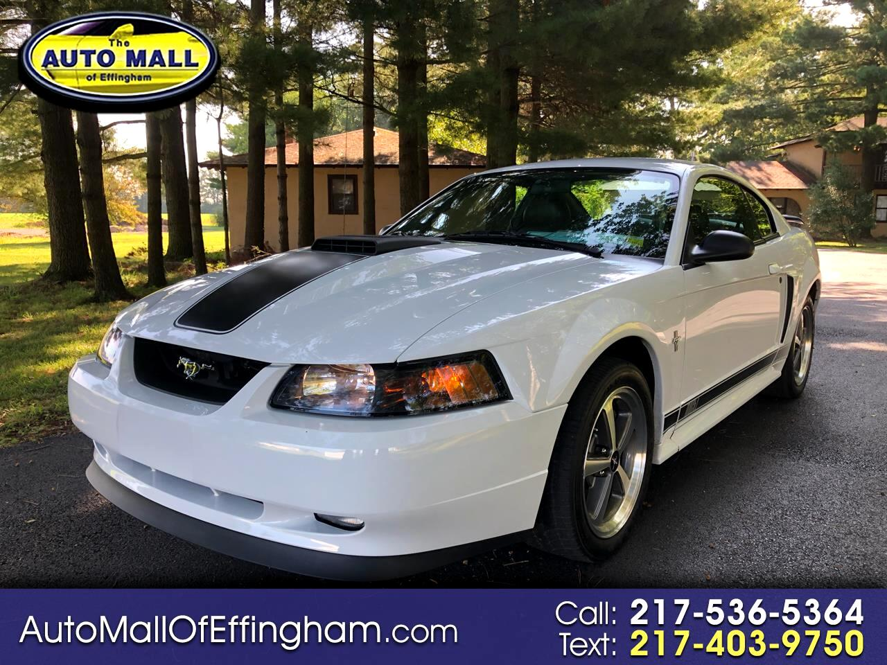 Ford Mustang 2dr Cpe Premium Mach 1 2003