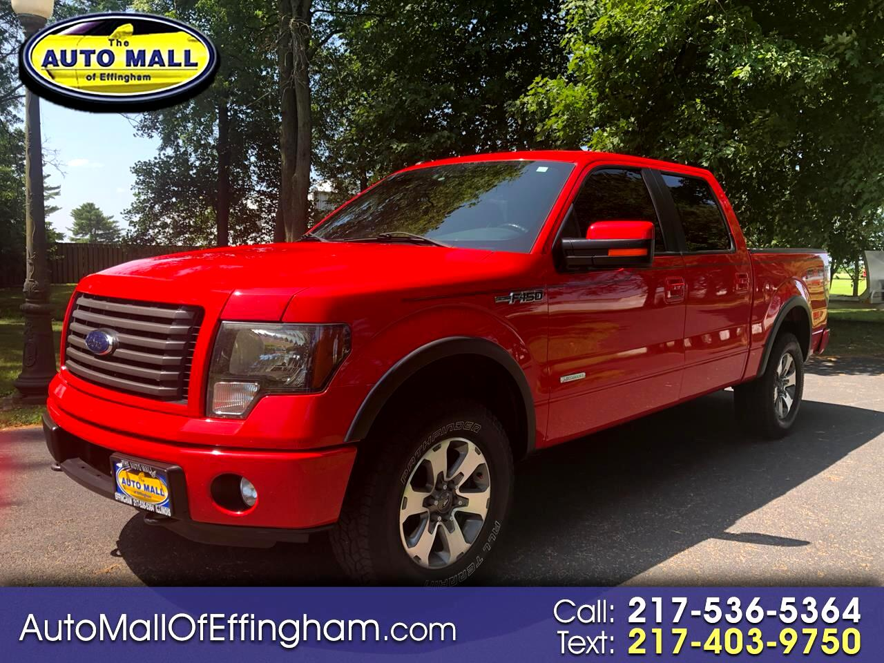 """2011 Ford F-150 4WD SuperCrew 145"""" FX4"""