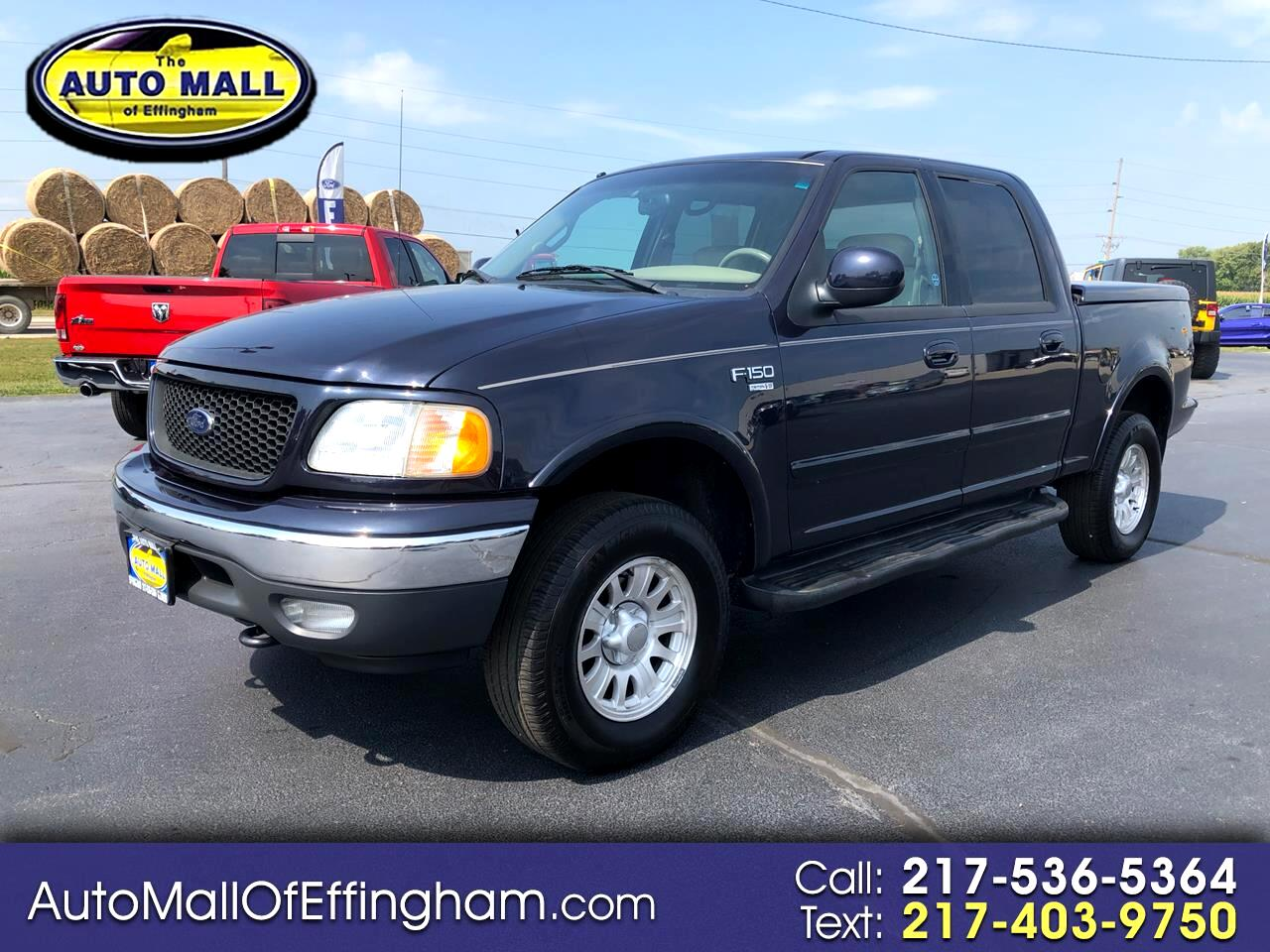 2001 Ford F 150 Supercrew Cab >> Used 2001 Ford F 150 Supercrew Crew Cab 139 Lariat 4wd For