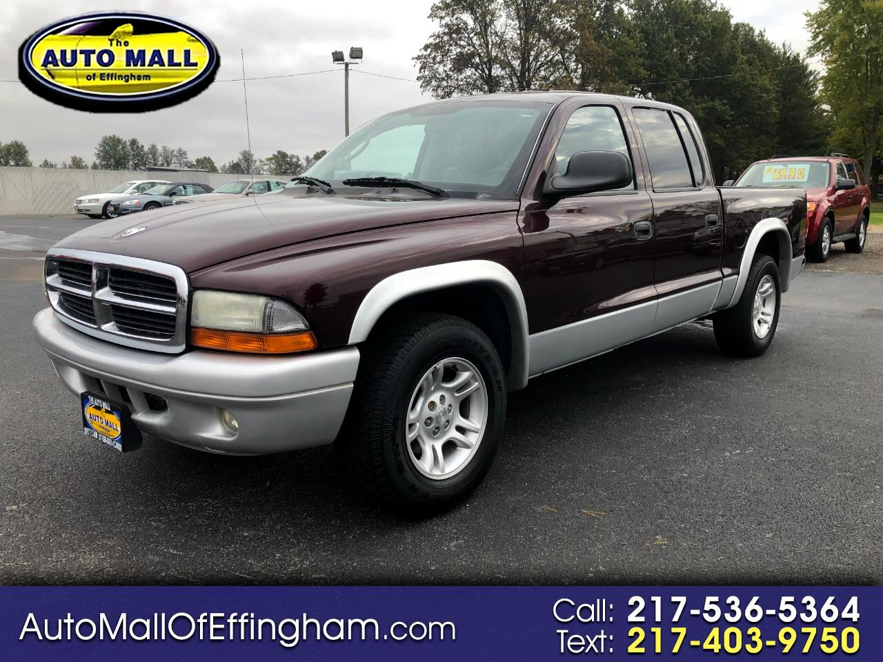 "Dodge Dakota 4dr Quad Cab 131"" WB SLT 2004"