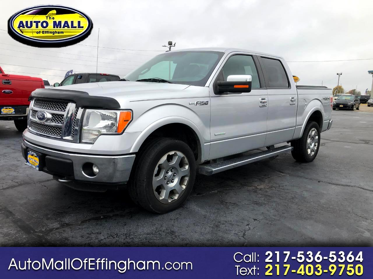 "Ford F-150 4WD SuperCrew 145"" Lariat 2012"