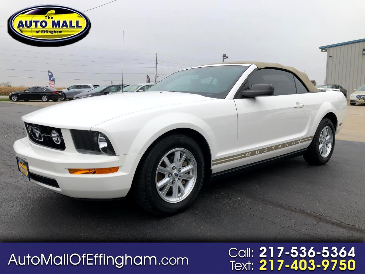 Ford Mustang 2dr Conv Premium 2008