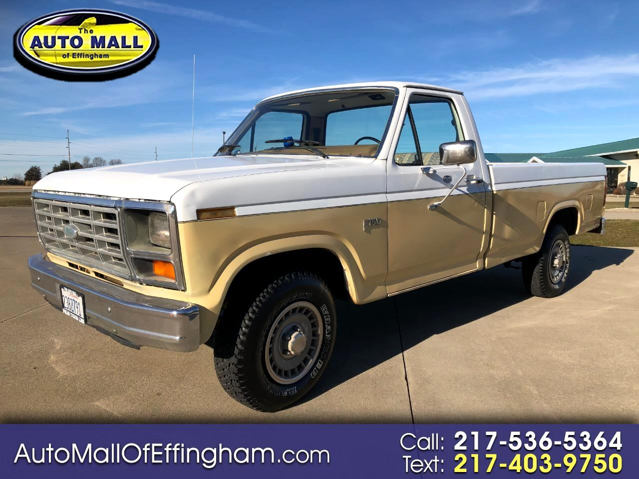 Ford Pickup F-150 Styleside 1985