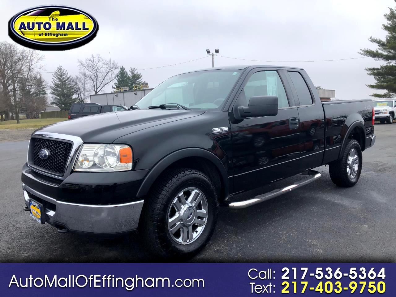 "Ford F-150 4WD SuperCab 145"" XLT 2008"