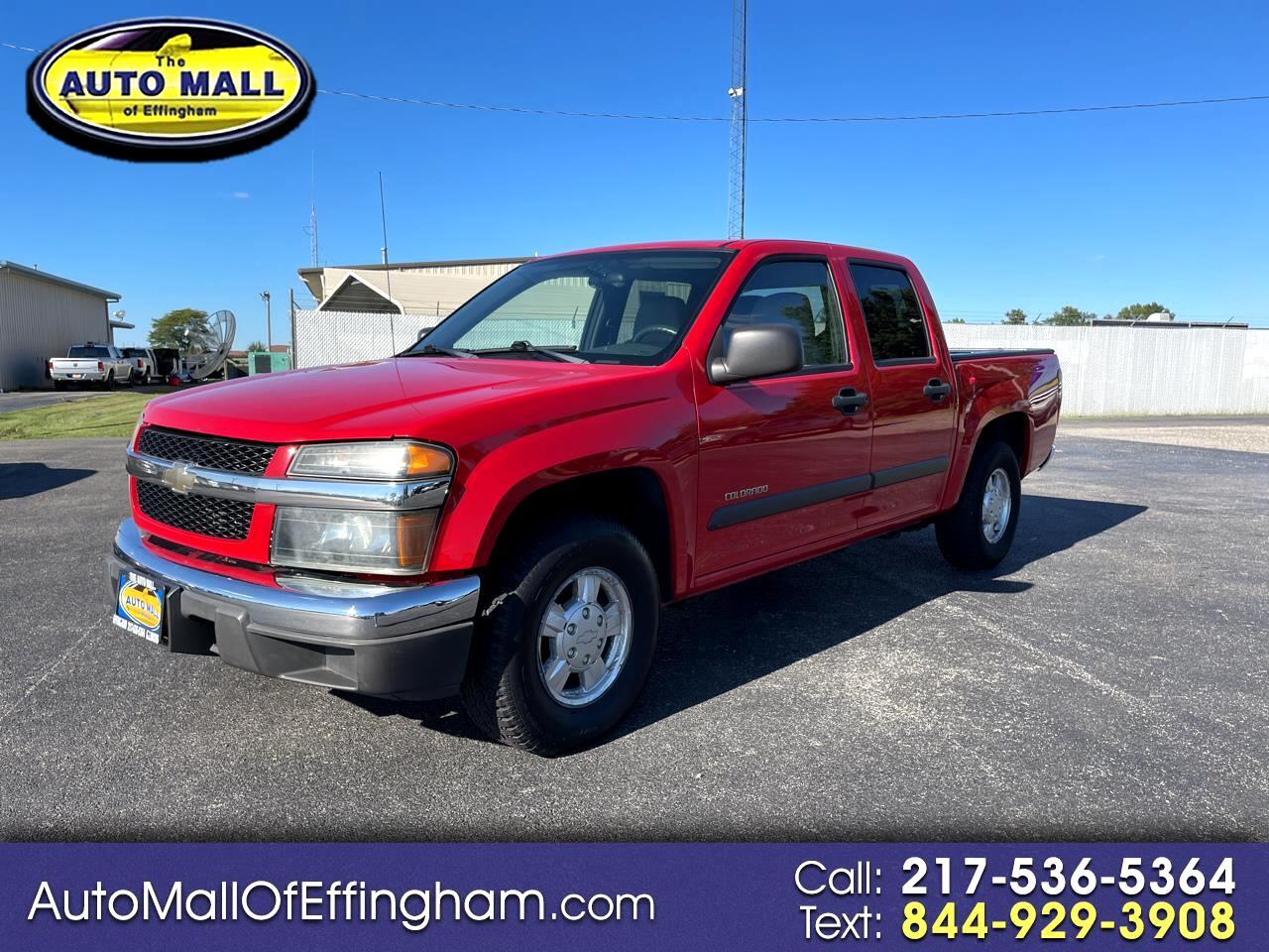 """Chevrolet Colorado Crew Cab 126.0"""" WB 1SB LS Z85 2005"""