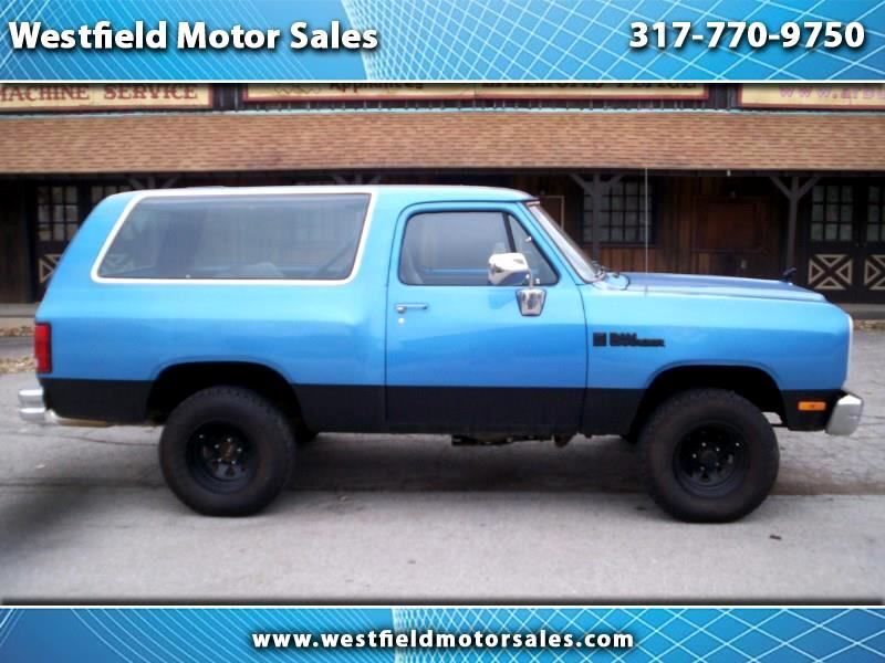 1990 Dodge Ram Charger 150S 4WD