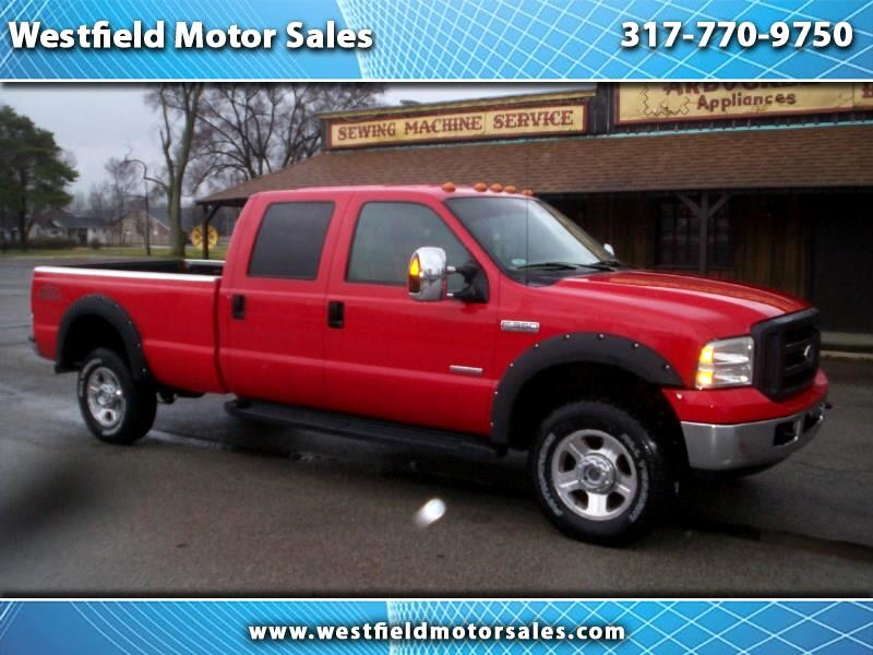 2007 Ford F-350 SD Lariat Crew Cab Long Bed 4WD