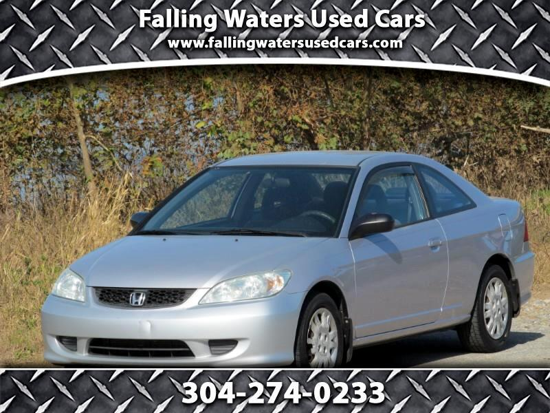 2004 Honda Civic LX coupe