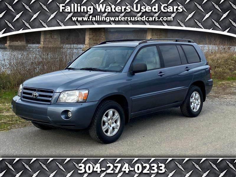 Toyota Highlander 4WD 4dr V6  Base (Natl) 2005
