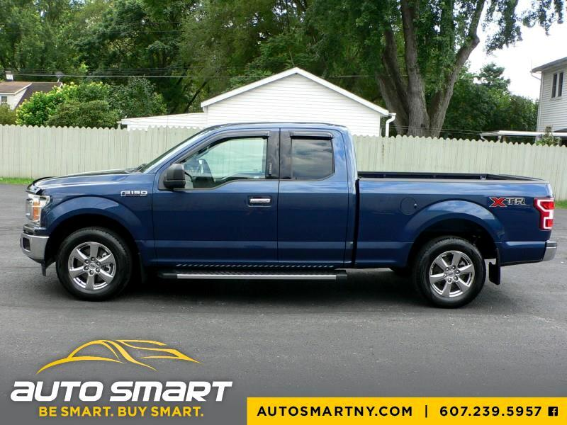 2018 Ford F-150 XLT SuperCab 6.5-ft. 2WD