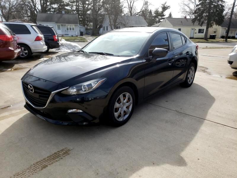 2014 Mazda MAZDA3 i SV AT 4-Door