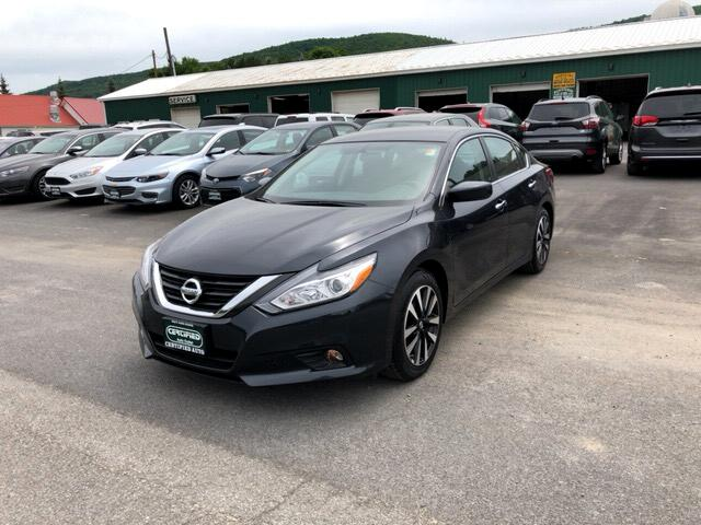 used 2018 nissan altima 2 5 sv for sale in oneonta ny 13820 certified auto. Black Bedroom Furniture Sets. Home Design Ideas