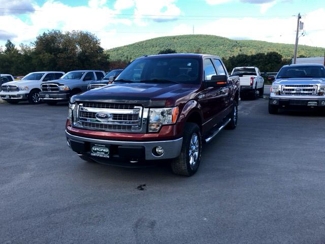 2014 Ford F-150 XLT 4WD SuperCrew 5.5' Box