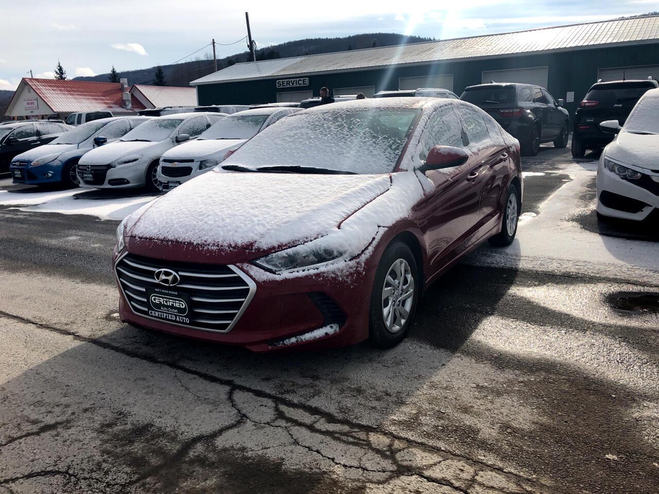 2017 Hyundai Elantra 4dr Sdn Auto SE