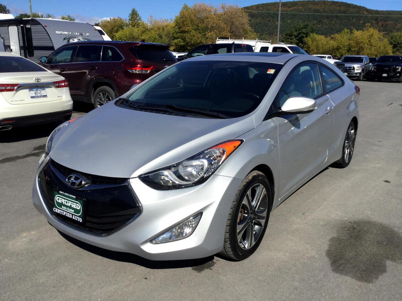 Hyundai Elantra GS Coupe A/T 2013