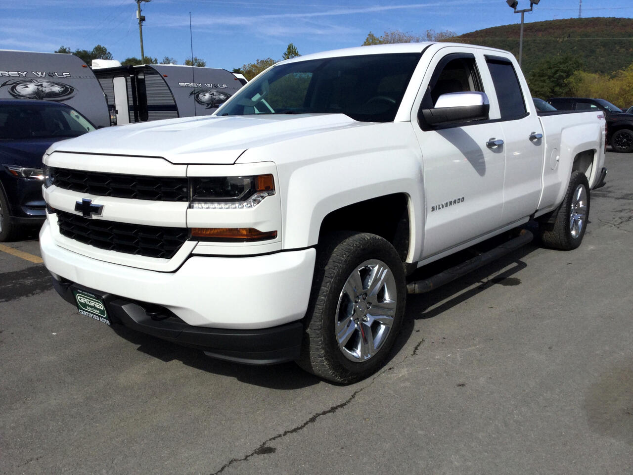 Chevrolet Silverado 1500 Custom Double Cab 4WD 2016