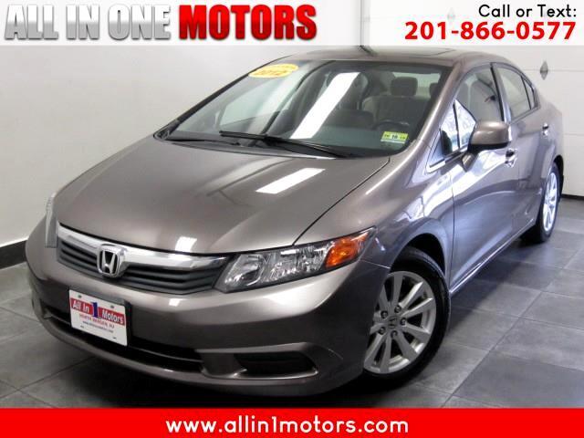 2012 Honda Civic EX-L Sedan 5-Speed AT