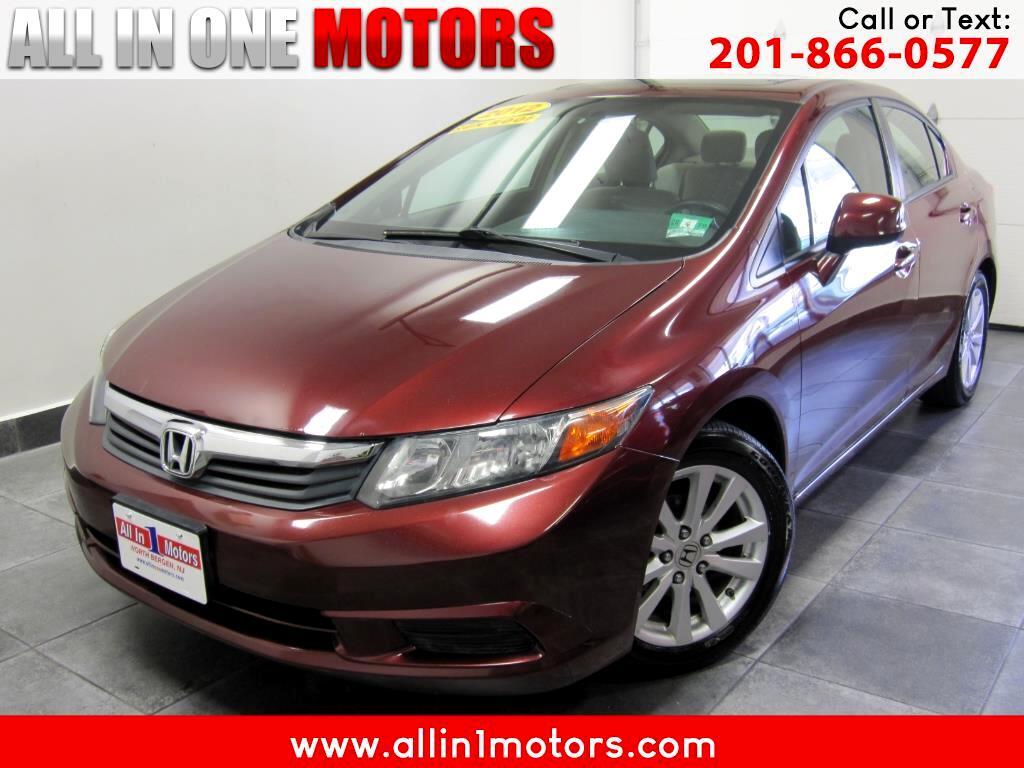 2012 Honda Civic Sdn 4dr Auto EX