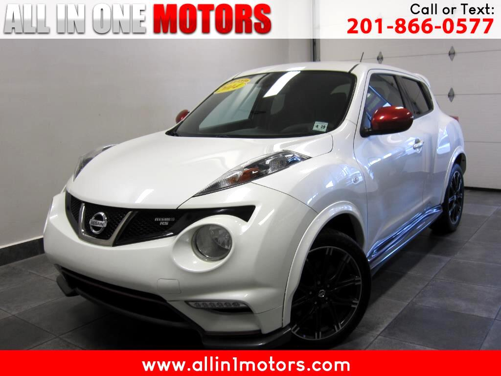 2014 Nissan Juke 5dr Wgn Manual NISMO RS FWD