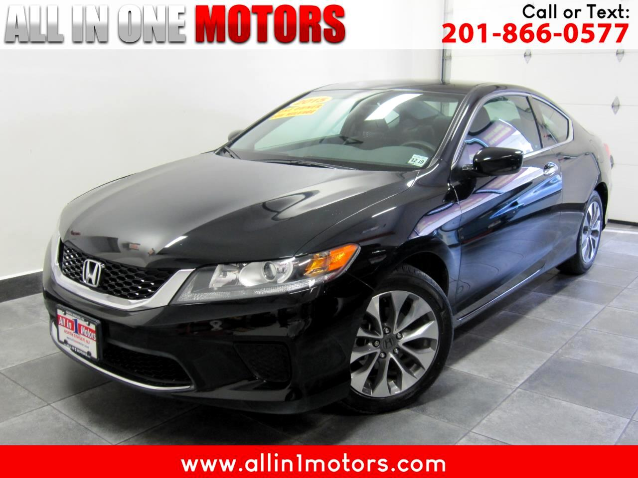 2015 Honda Accord Coupe 2dr I4 Man LX-S