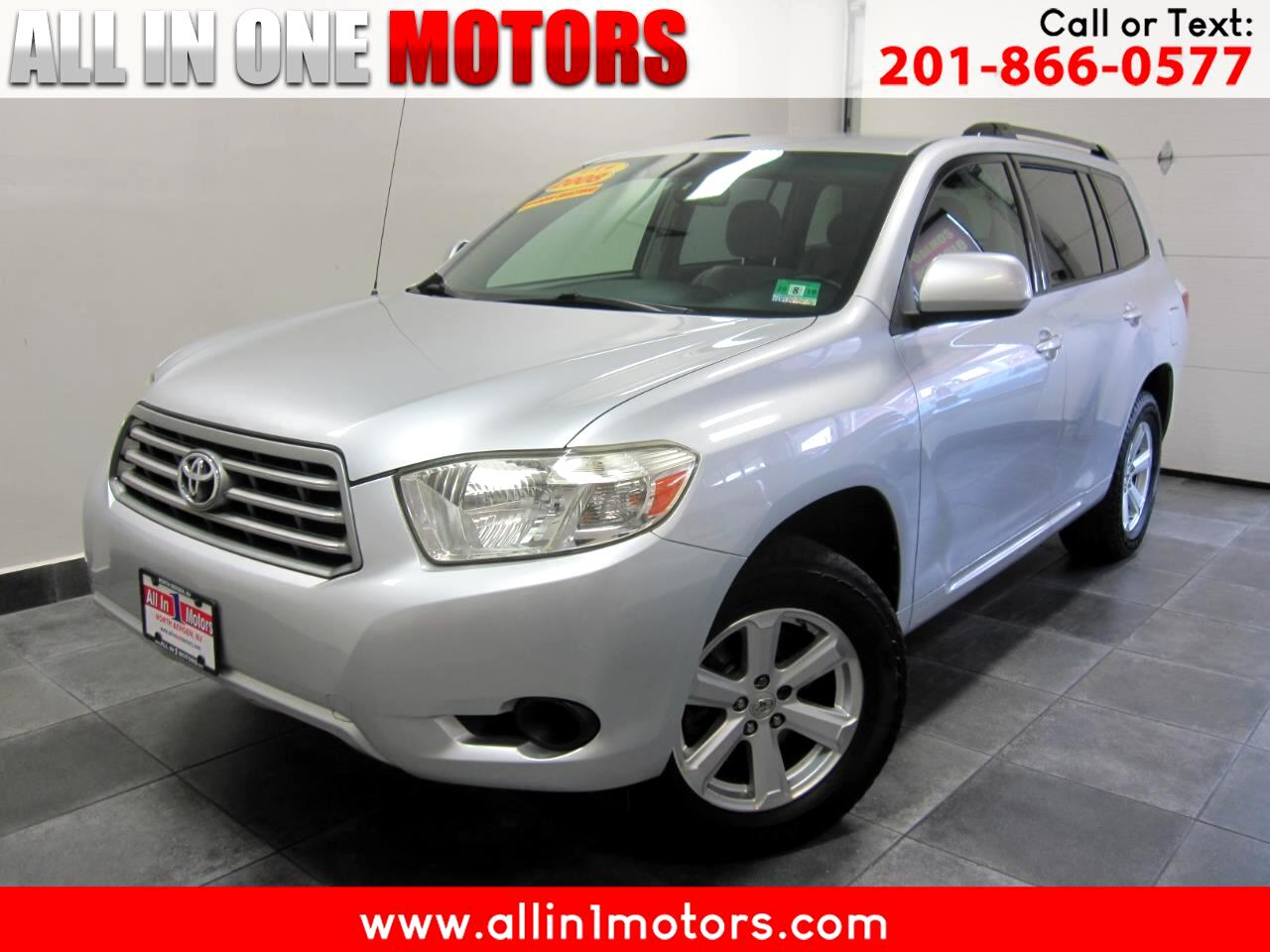 2008 Toyota Highlander 4WD 4dr Base (Natl)