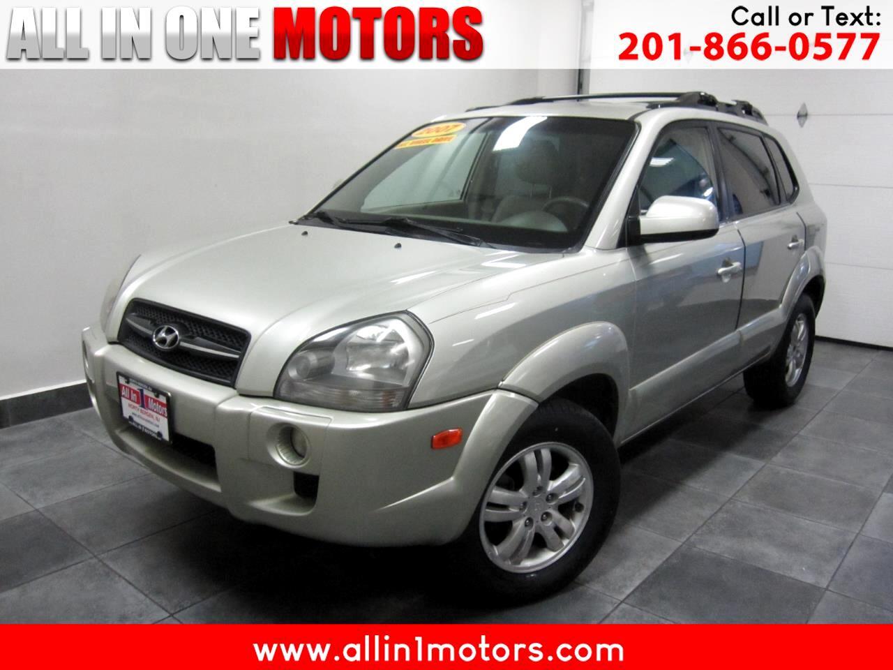 2007 Hyundai Tucson 4WD 4dr Auto Limited