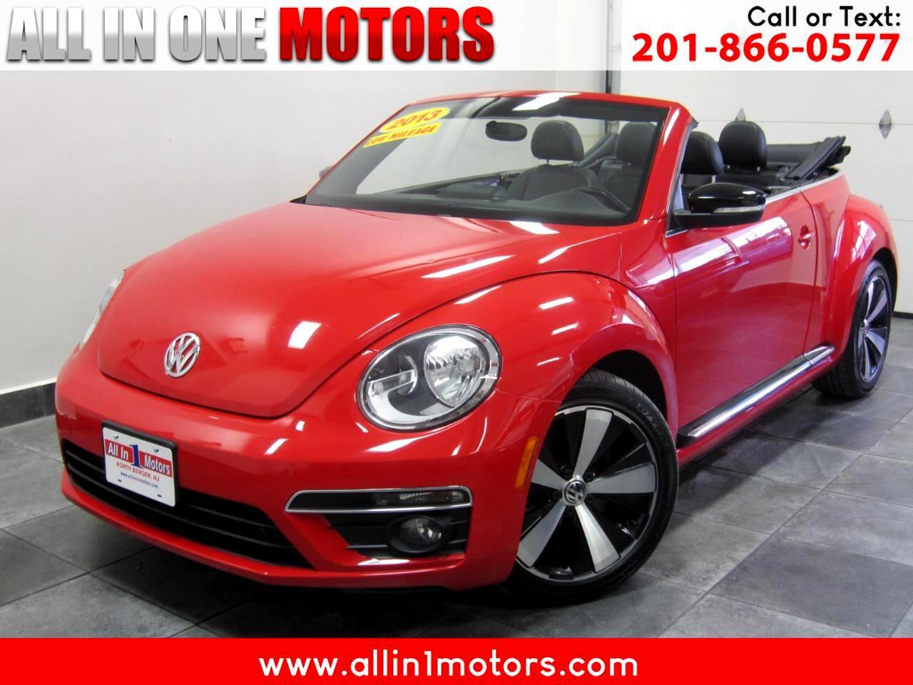 2013 Volkswagen Beetle Convertible 2dr DSG 2.0T PZEV
