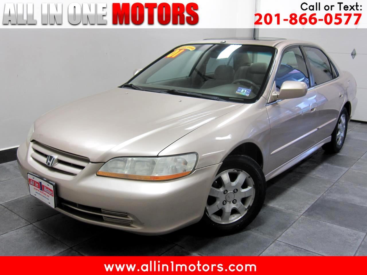 2001 Honda Accord Sdn EX Auto ULEV