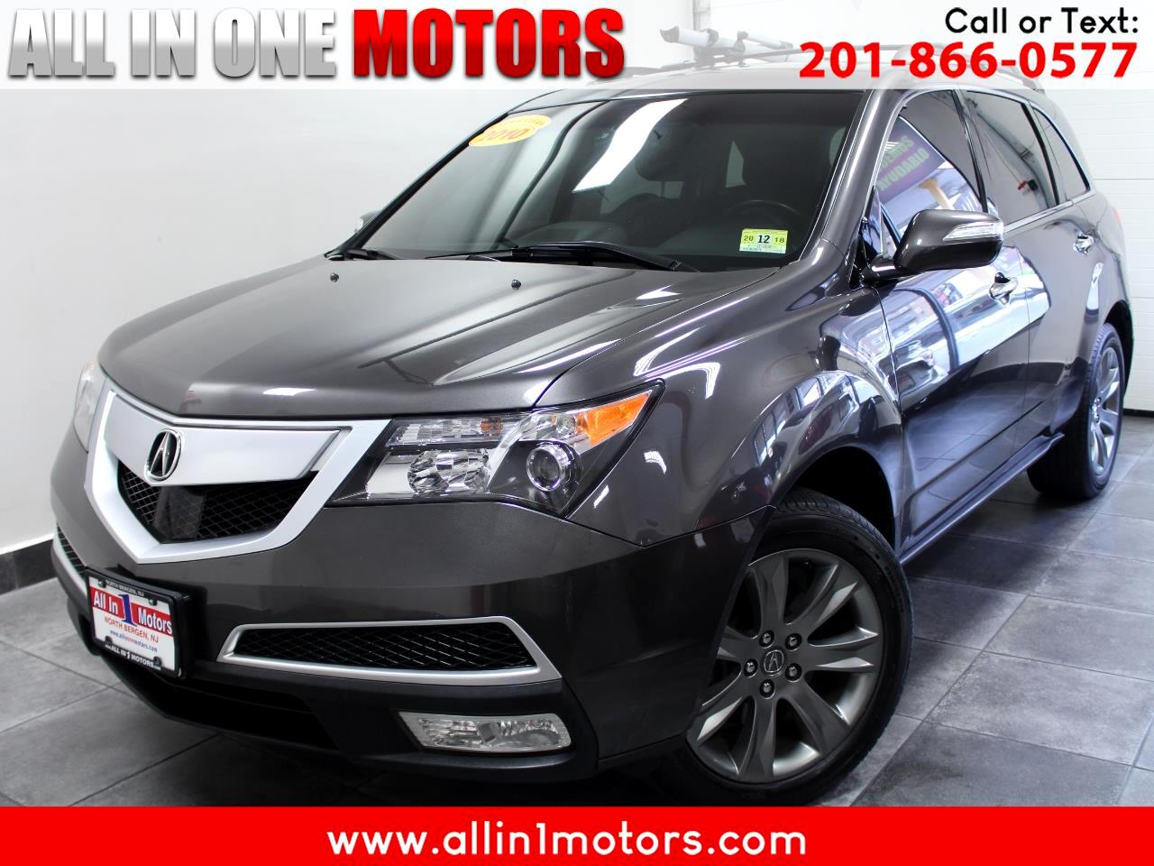 2010 Acura MDX AWD 4dr Advance Pkg