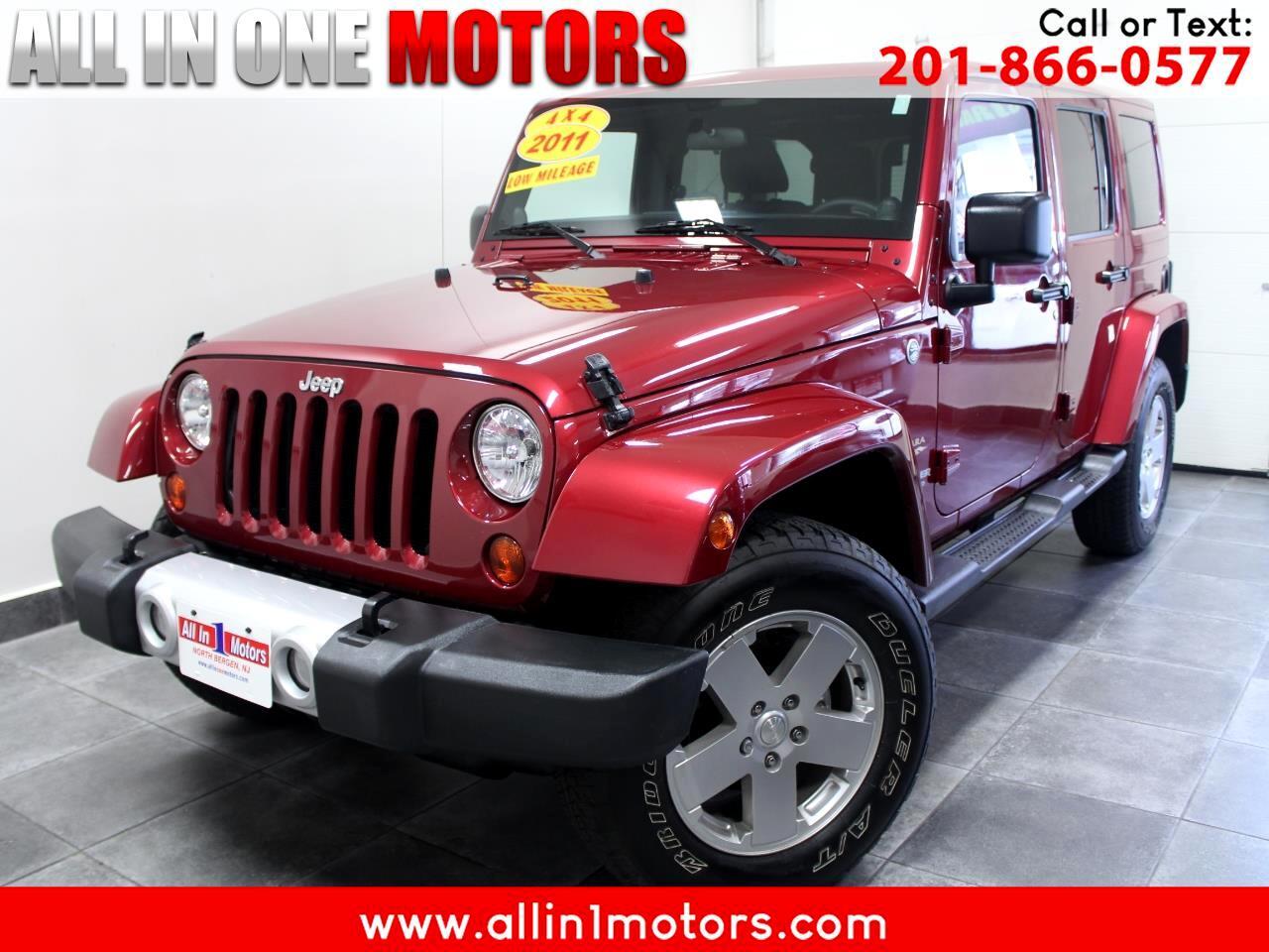 2011 Jeep Wrangler Unlimited 4WD 4dr Sahara