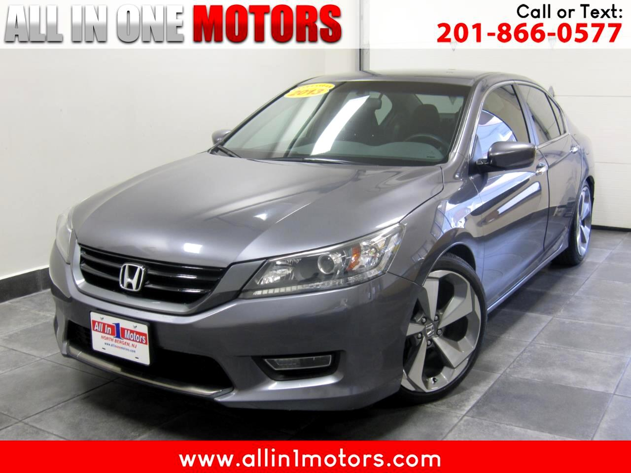 2013 Honda Accord Sdn 4dr I4 Man Sport