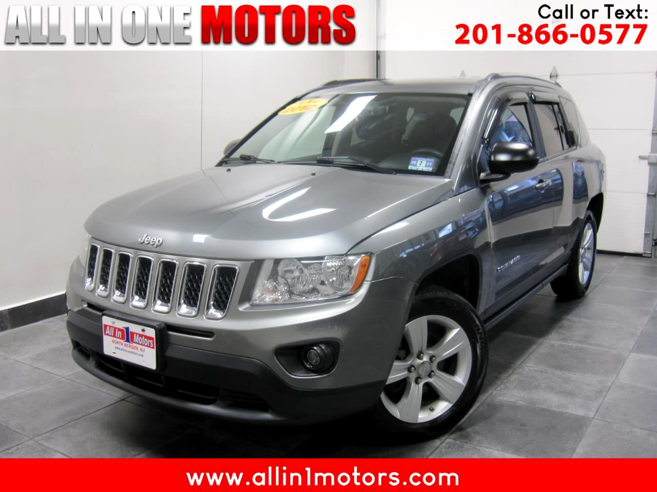 2012 Jeep Compass 4WD 4dr Sport