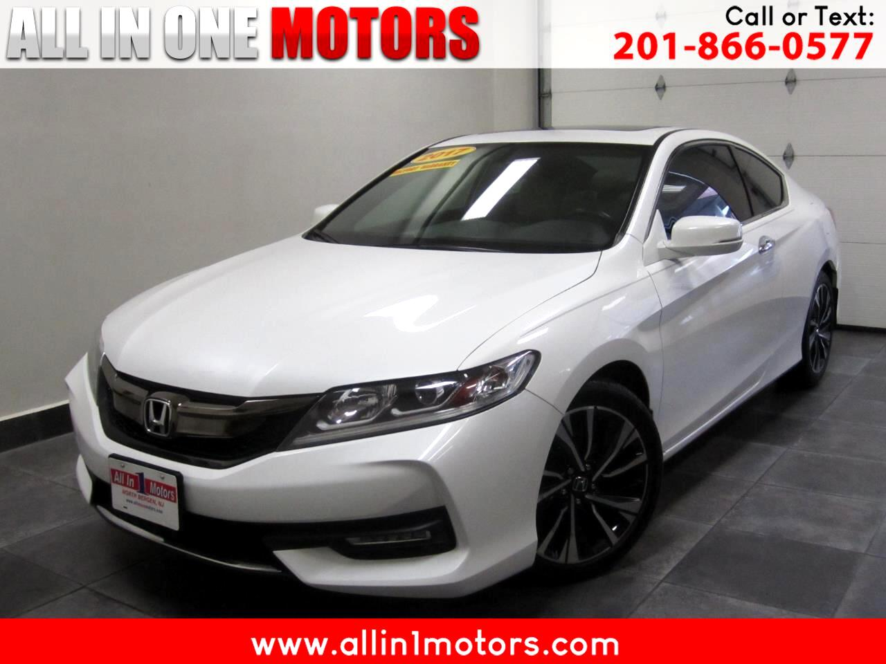2017 Honda Accord Coupe EX-L CVT